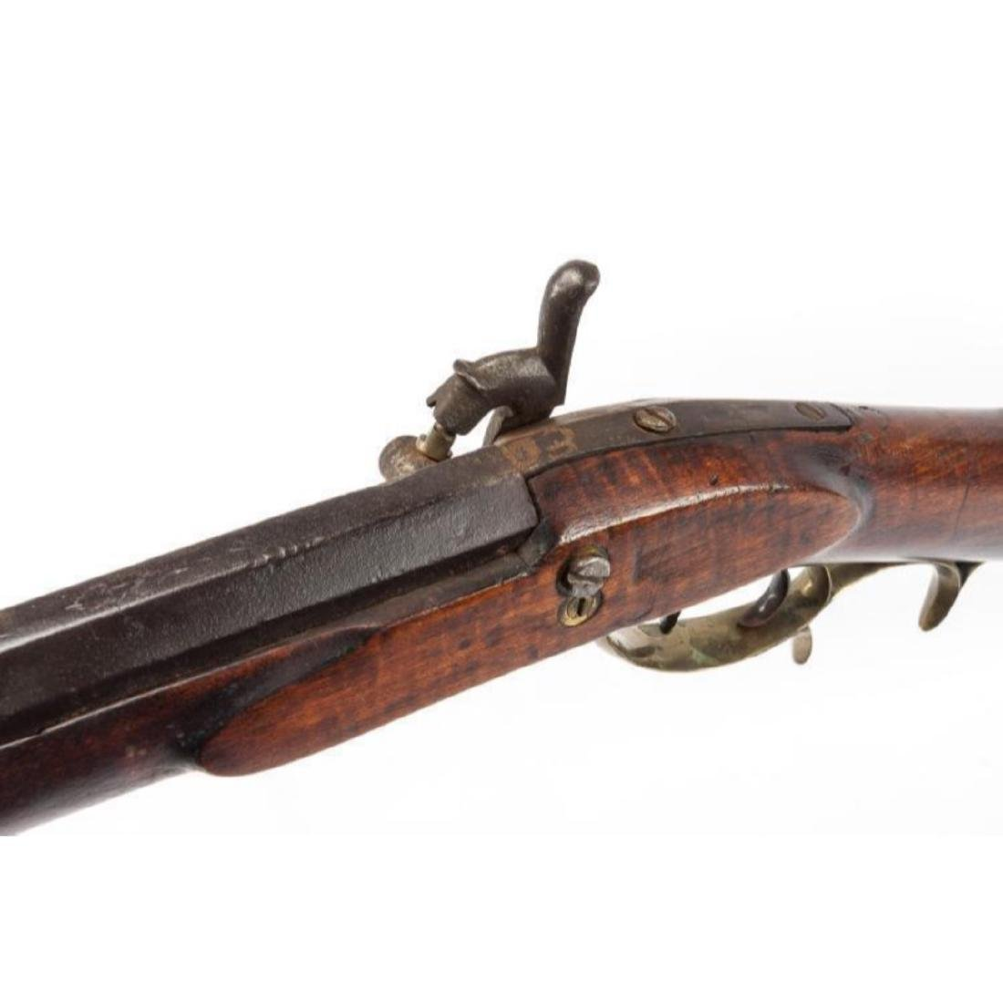Unmarked 19th C Percussion Musket - 2