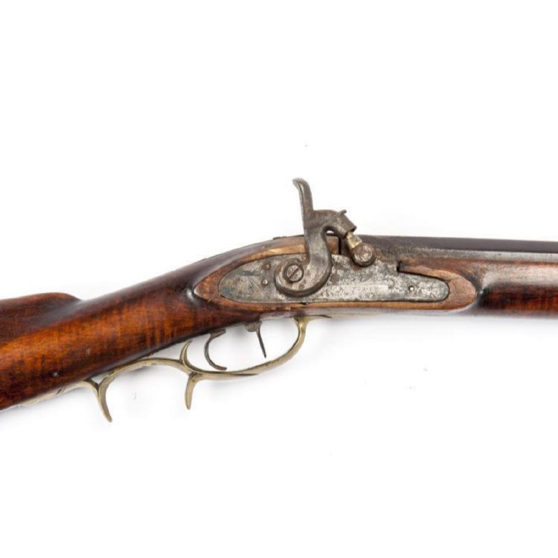 Unmarked 19th C Percussion Musket - 4