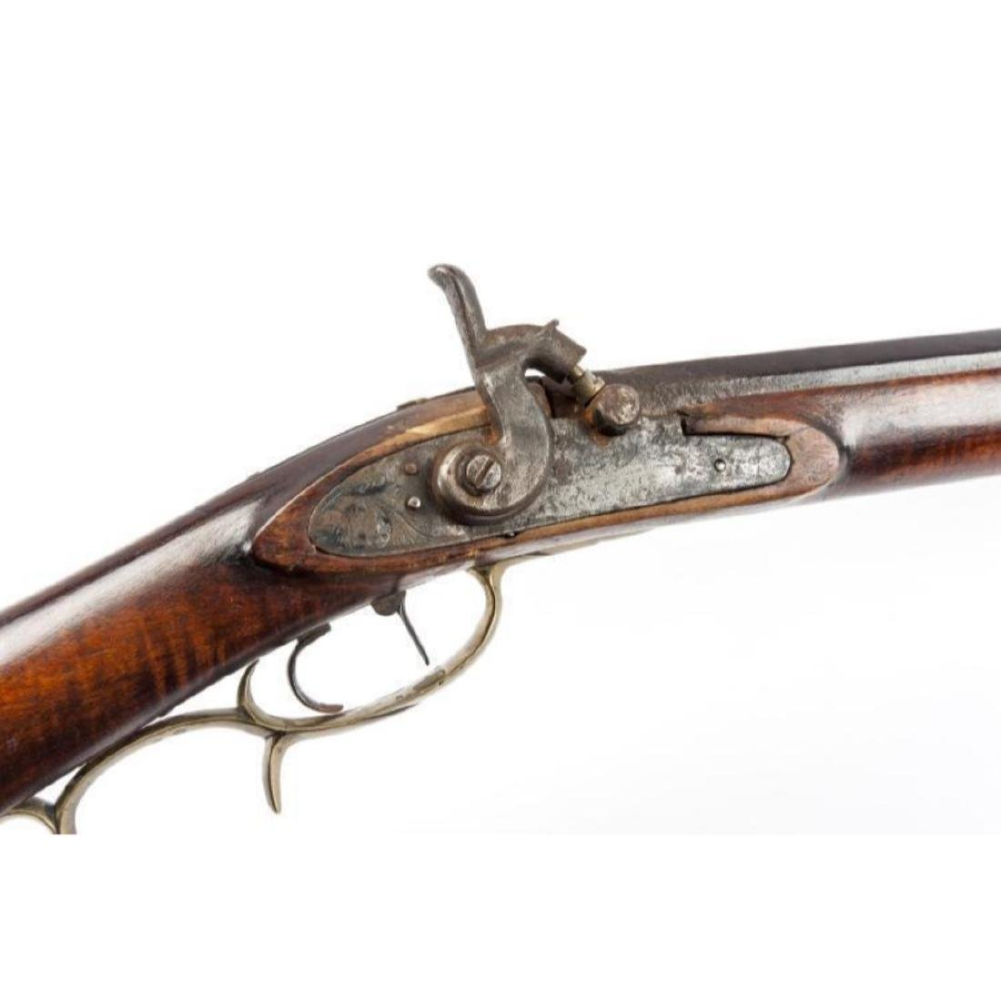 Unmarked 19th C Percussion Musket - 5
