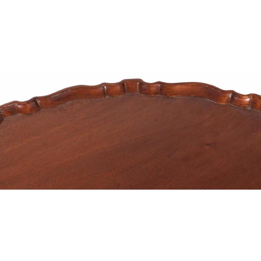 Mahogany Bird Cage Tilt Top Table - 3