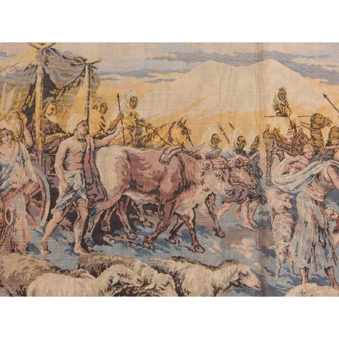 Beautiful, Vintage French Tapestry Wall Hanging 50x95cm - 4