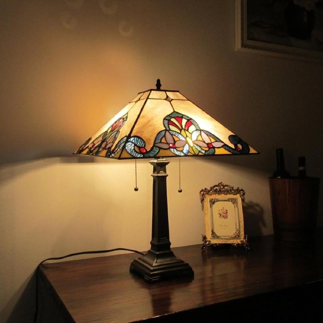 Tiffany-style Table Lamp - 3