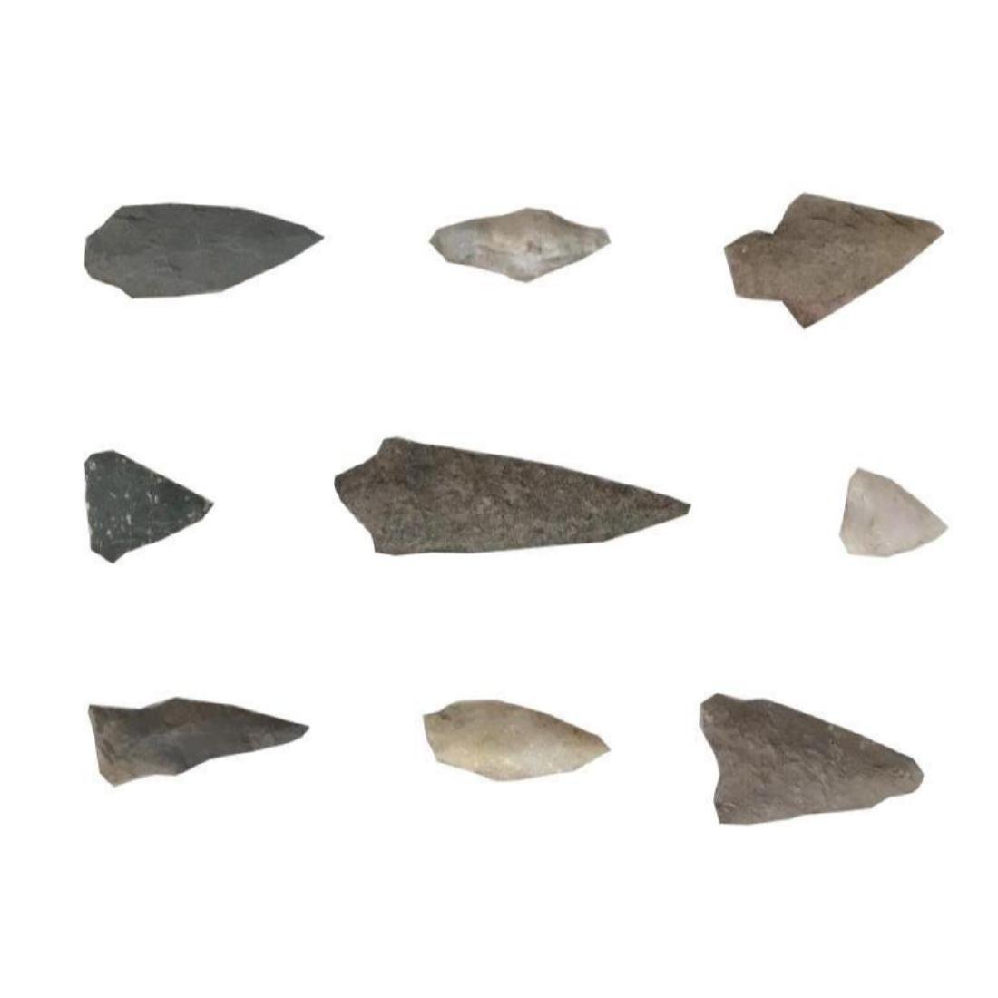 Arrowhead Collection, Native American Points - 3