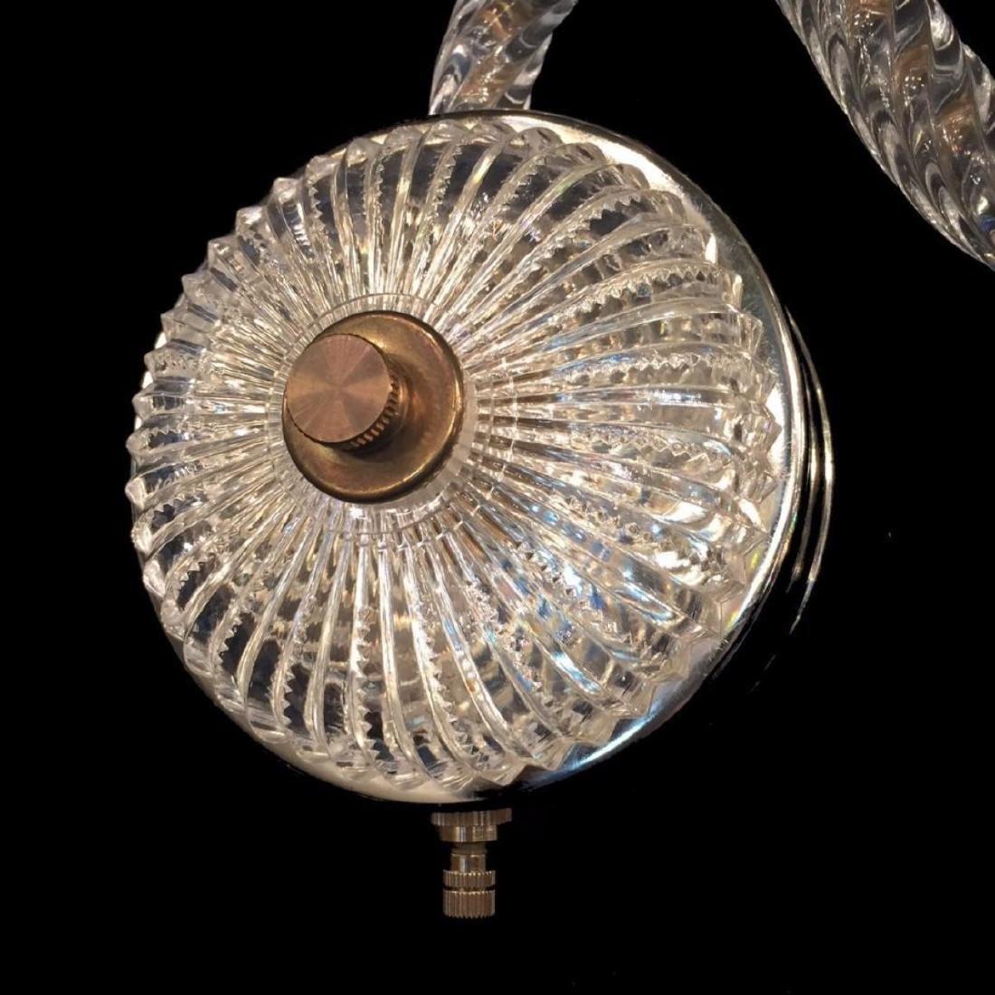 Sconce 3 - 3 Light Crystal Sconce with Swarovski - 3