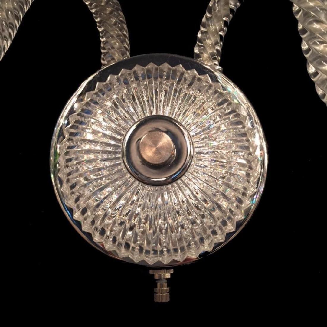 Sconce 3 - 3 Light Crystal Sconce with Swarovski - 4