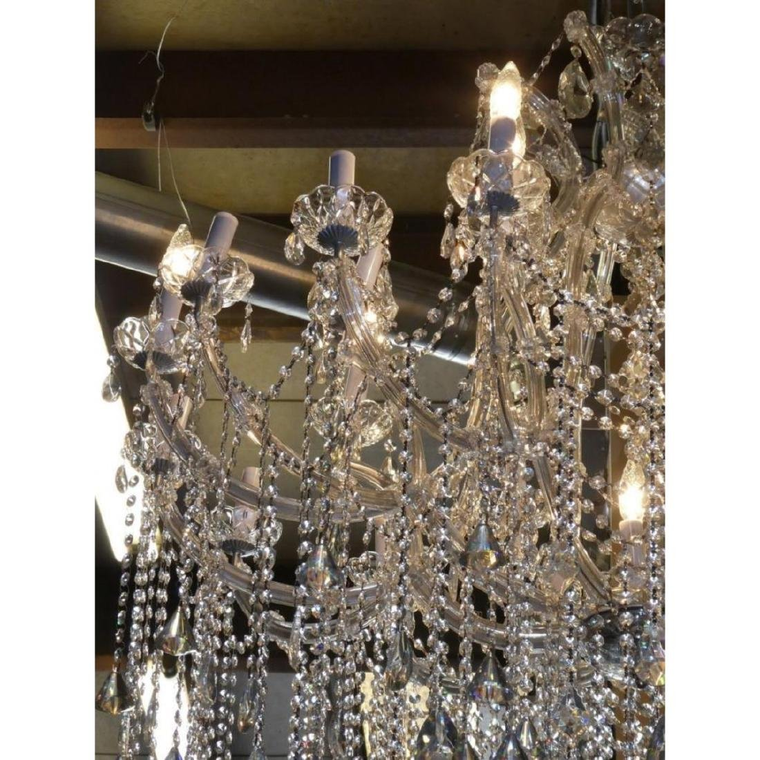 Maria Theresa Style Chandelier With Trailing Crystal - 4