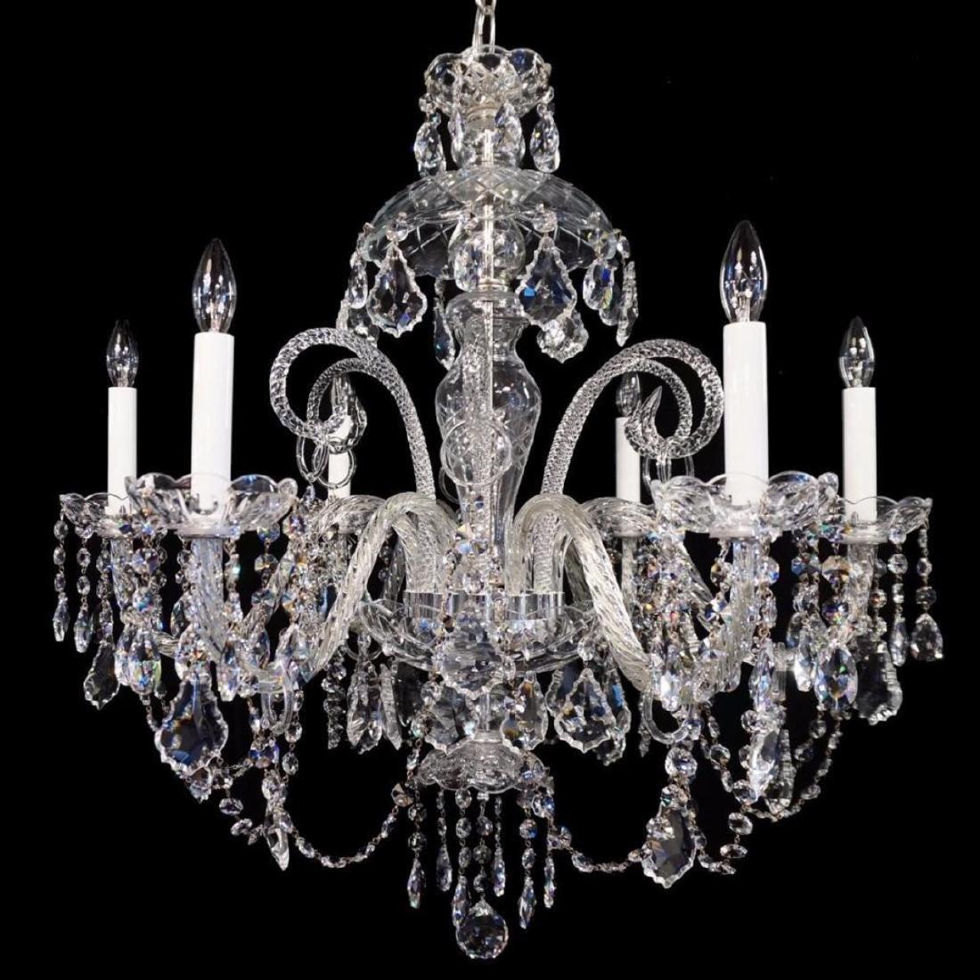 Anadel - 6 Light Crystal Chandelier with Swarovski -
