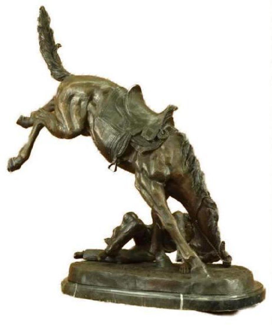 """WICKED PONY Bronze Sculpture by Frederic Remington 24"""" - 5"""