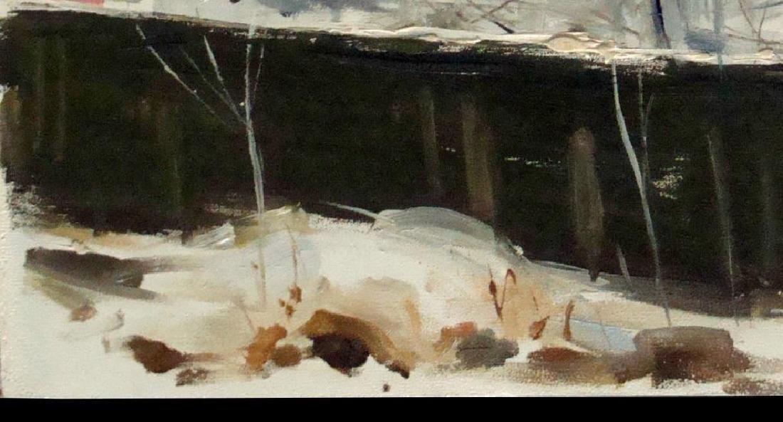 Russian Ukrainian, Signed Oil Painting - 2