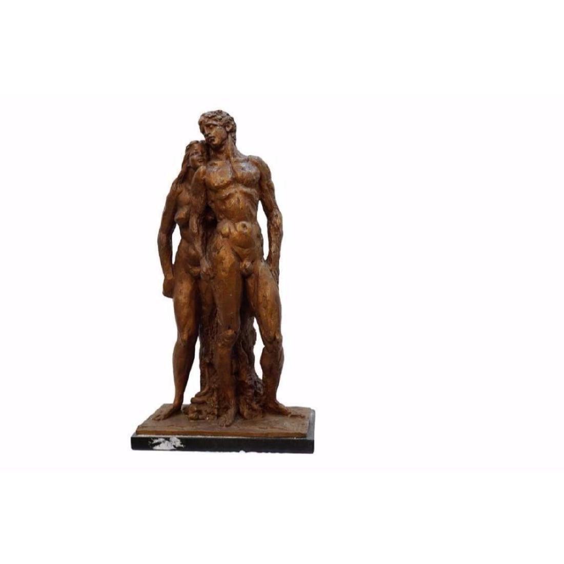 ORIGINAL AND RARE: Gulaberto Rocchi Signed Bronze