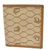 Authentic Vintage Christian Dior Bi-fold Wallet