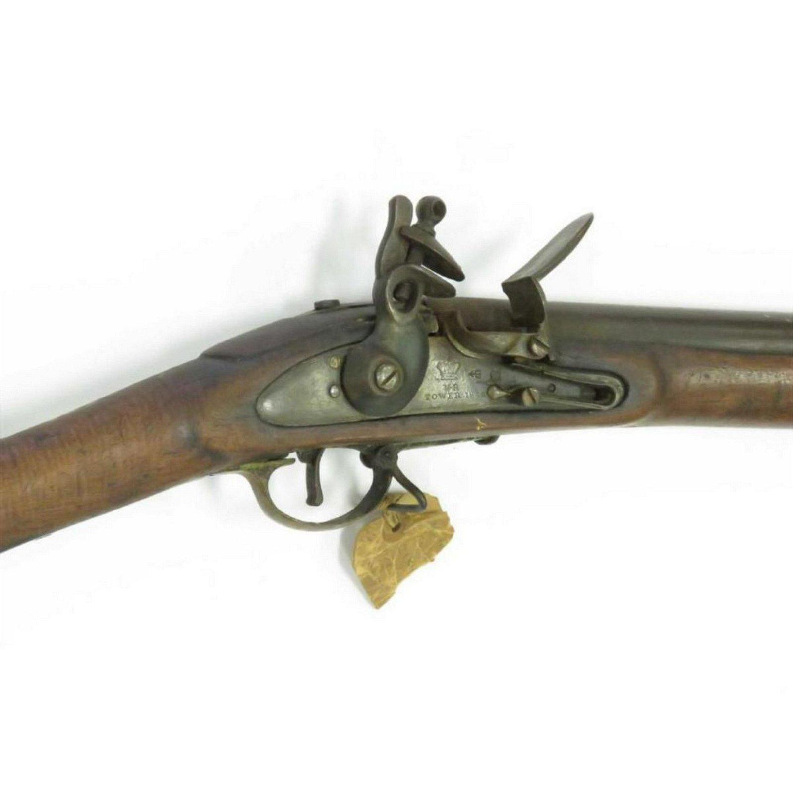 English Tower Pattern 1846 .75 Cal Flintlock Musket