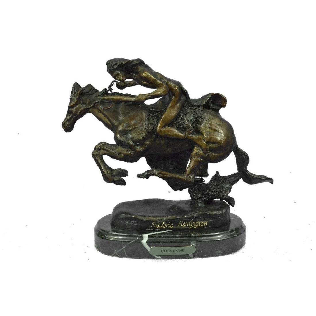 CHEYENNE by Frederic Remington Bronze Sculpture of