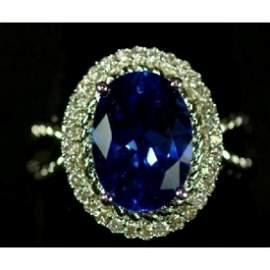 5.38 Ct. Sapphire Ring