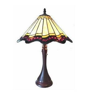 Tiffanystyle Baroque Table Lamp