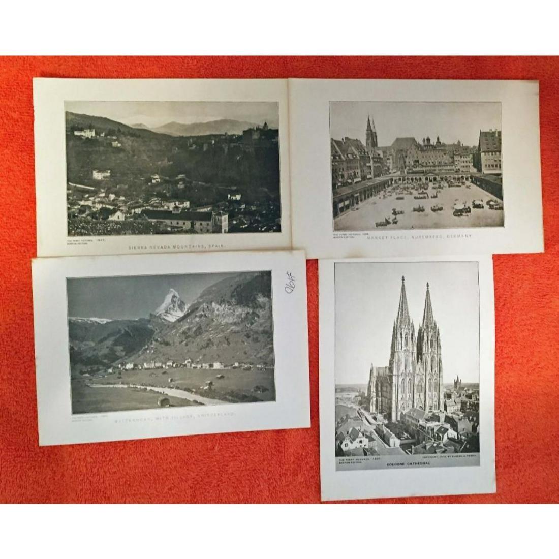 Vintage Group of c1920's Half-tone prints, Germany,
