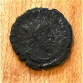 259268 AD Ancient Roman Silver Coin Postumus