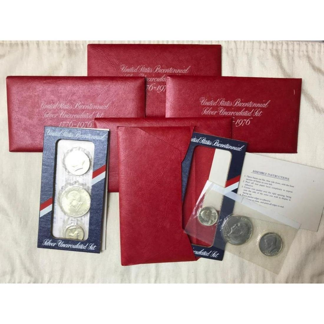 Boxed Collector's Set, US Mint Bicentennial Silver