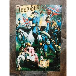 Special Deep Spring Whiskey Civil War Confederate