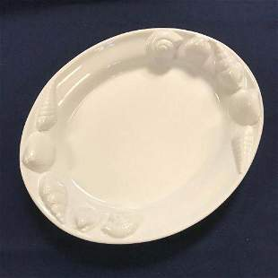 Large Ceramic Cookware Shell Theme Seafood Platter