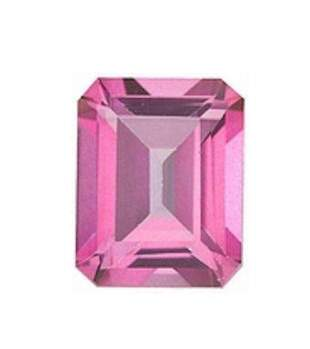 95ct Natural Pink Topaz Octagon Faceted Gemstone