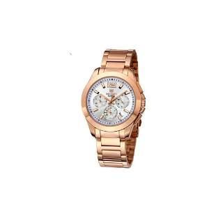 Mens Luxury Stainless Steel Quartz Wristwatch