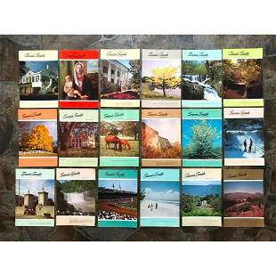 Collection of Standard Oil Scenic South Magagzines