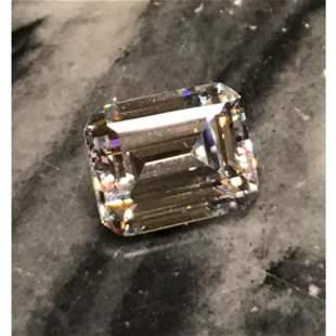 63ct Radiant Cut Russian Cubic Zirconia Diamond