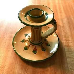 Vintage Hand-painted Italian Ceramic Sunflower