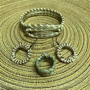 Lowcountry Charleston Sweetgrass Woven Bracelet,