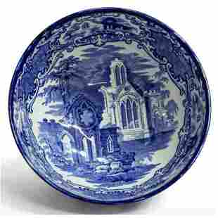 "Early 20th Century English Staffordshire ""Abbey"""