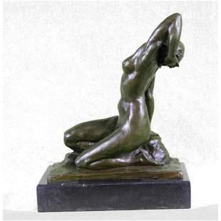 After Gennarelli, Nude Bronze Figure Sculpture