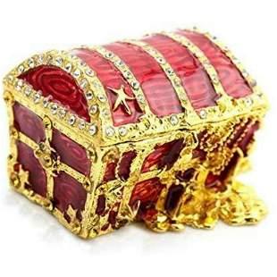 Pirate's Treasure Chest Trinket Jewel Box