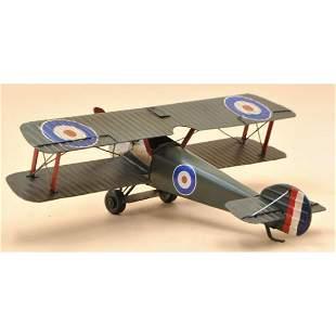 1940 Spitfire Monoplane Metal Model Aircraft, Plane