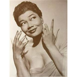 African American History, Actress Singer Pearl Bailey