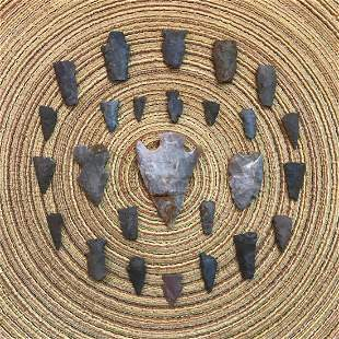 Native American Indian Arrowhead Artifacts, Projectile