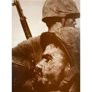 World War II Soldier With Canteen, Saipan Photo Print