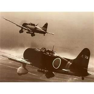 World War II Japanese Zeros Photo Print