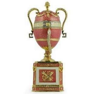 Faberge Inspired Trinket, Music Box Egg