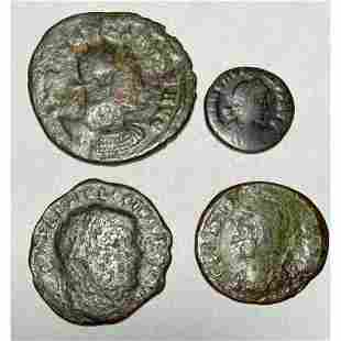 Group of Ancient Roman Coins