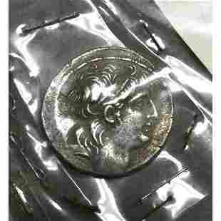 Ancient Greece, Syria, 129-139 B.C. Antiochus VII AR