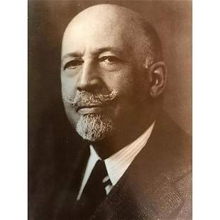 African American NAACP Civil Rights Leader, W.E.B.