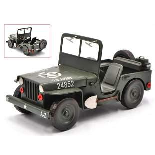 World War II US Army 1940 Jeep Model Decoration