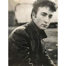 Vintage John Lennon, Beatles Photo Print, Poster