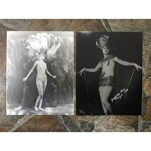Pair of Ziegfield Follies Showgirls Photo Prints