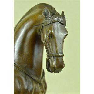 Tang Dynasty Style Horse Bronze Sculpture