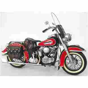 1952 Harley Davidson Hand-crafted Collectible Model
