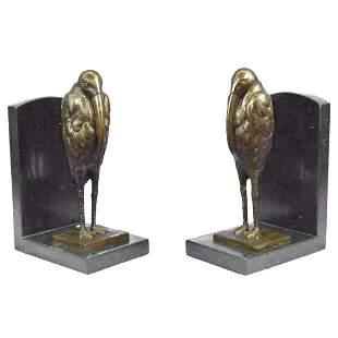 After Dali, Pelican Bronze Book Ends, Sculptures