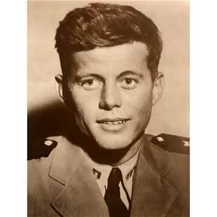 Young John F Kennedy Sepia Tone Photo Print