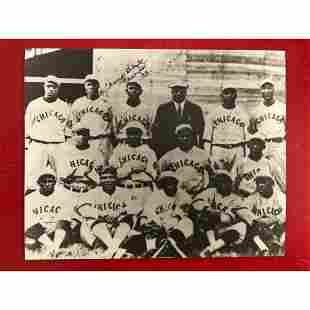 African American History, Chicago Giants Baseball Photo